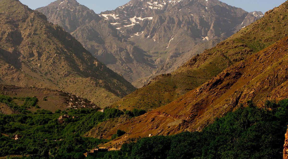 Grande traversee de l'atlas Ait bougmez - Toubkal