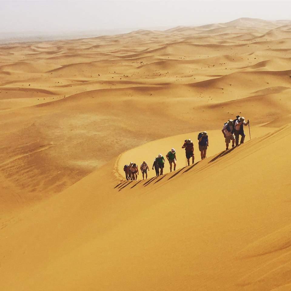 desert trek adrar aventure