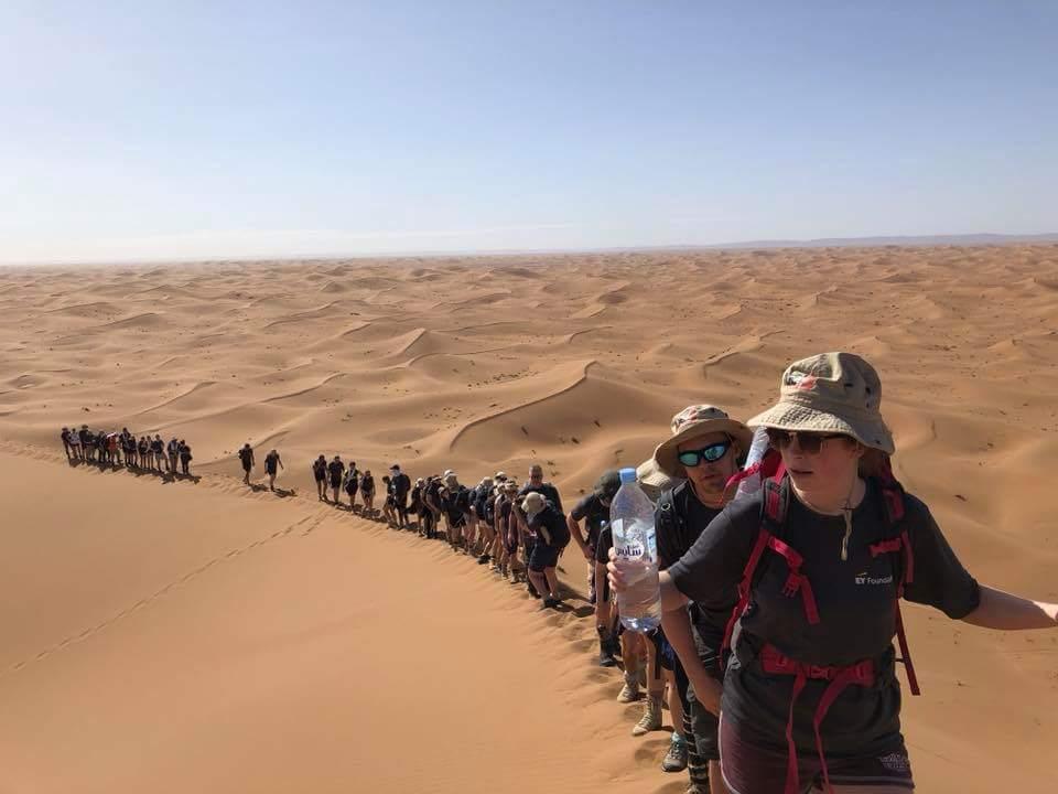 ouarzazate sahara trek adrar aventure